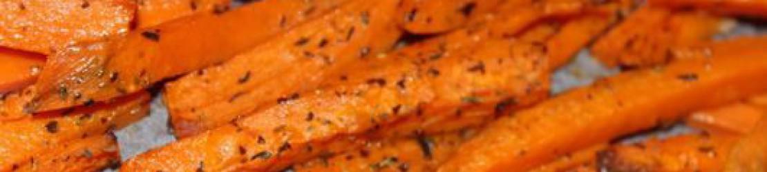 Frites de courge butternut ou patate douce